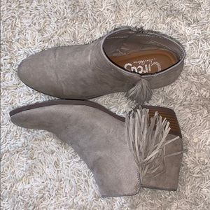 Women's Circus Fringe Booties